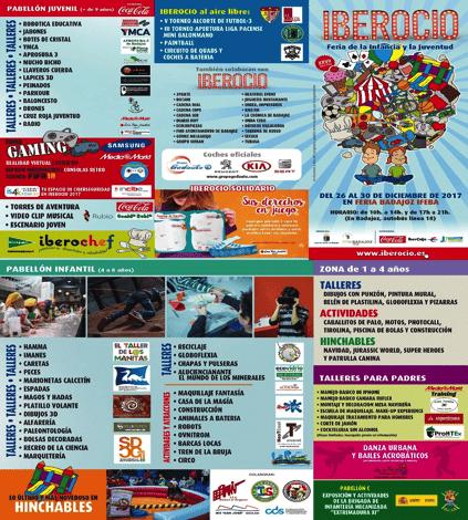 Programa actividades Iberocio 2017
