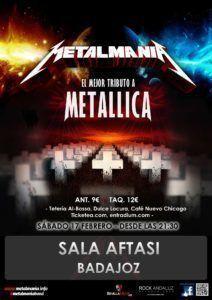 Concierto Tributo Metallica