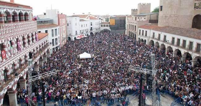 Fiesta Los Palomos Badajoz