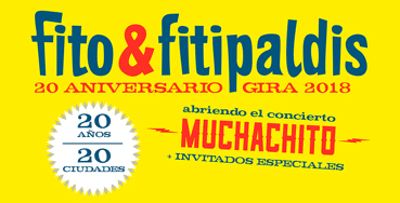 20 aniversario Fito & Fitipaldis