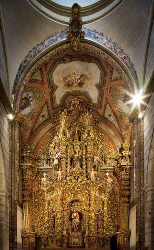 Altar mayor Catedral San Juan de Badajoz