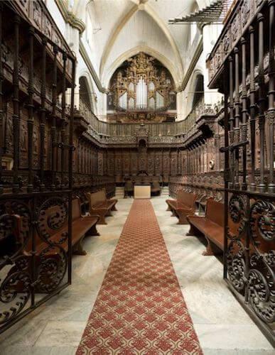 Coro de la Catedral de Badajoz