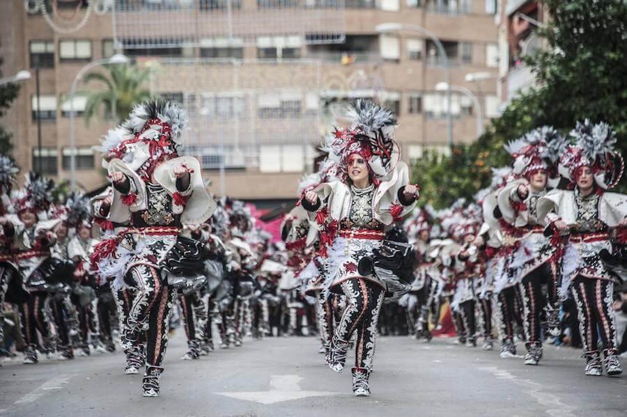 Carnaval de Badajoz. Desfile Comparsas