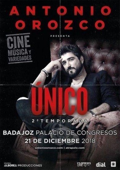 Concierto Antonio Orozco en Badajoz