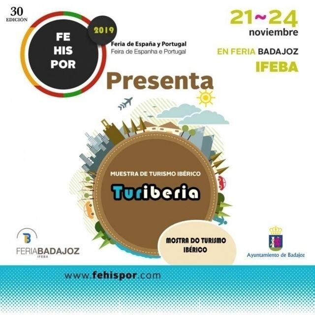Cartel de la 30 edicion de Fehispor en Badajoz