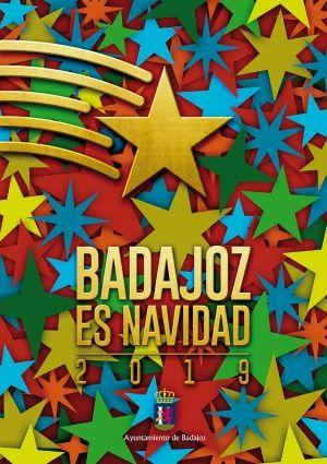 Cartel Navidad en Badajoz 2019