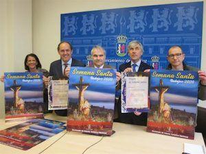 Presentación del cartel de la Semana Santa 2020 en Badajoz